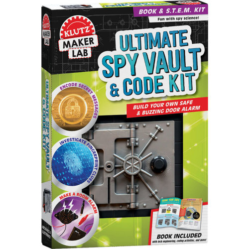 KLUTZ KLUTZ MAKER LAB: ULTIMATE SPY VAULT & CODE KIT