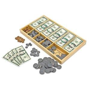 MELISSA & DOUG PLAY MONEY SET (550pc)