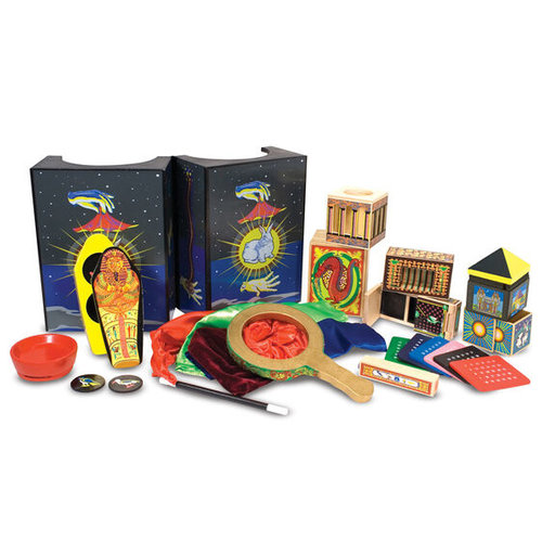 MELISSA & DOUG MAGIC SET DELUXE WOODEN