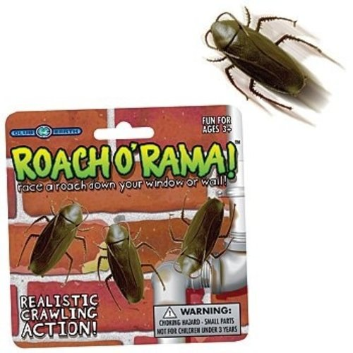 PLAY VISIONS STICKYFOOT ROACH O RAMA