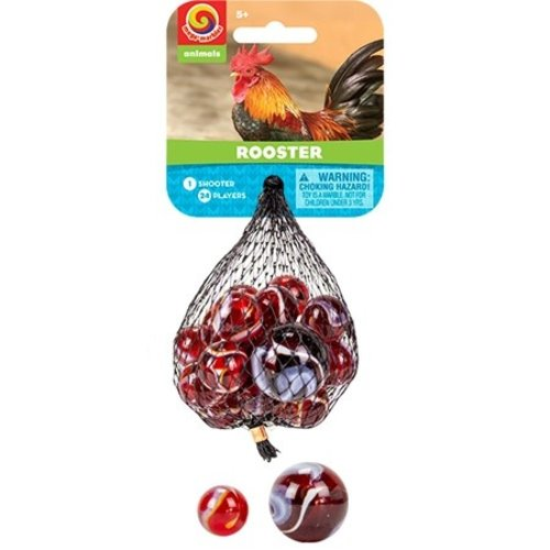 PLAY VISIONS MARBLES ROOSTER