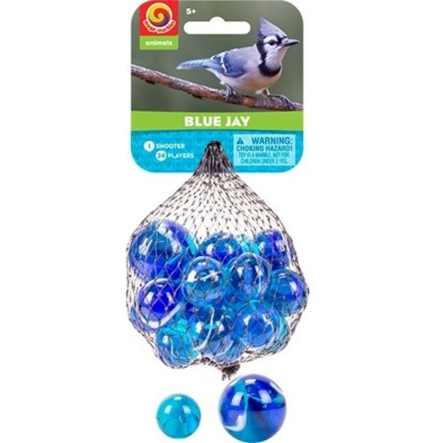 PLAY VISIONS MARBLES BLUE JAY