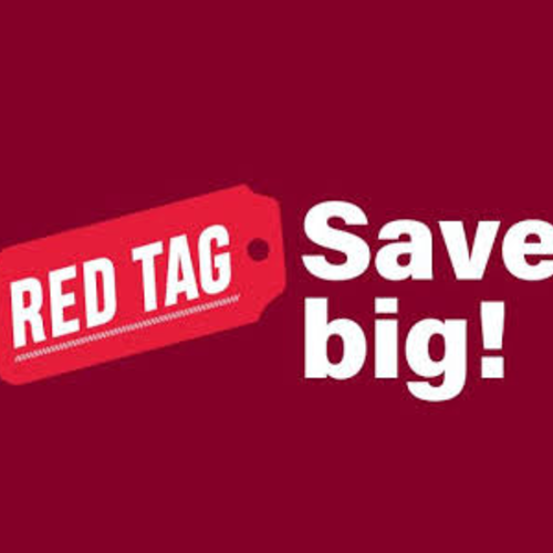 Clearance & Red Tag