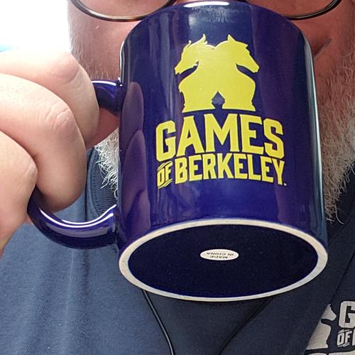 Games of Berkeley MUG GAMES OF BERKELEY / EVIL EMPIRE INC