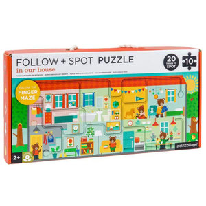 WILD & WOLF FOLLOW + SPOT PUZZLE - IN OUR HOUSE
