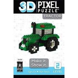 UNIVERSITY GAMES 3D PIXEL STANDARD TRACTOR