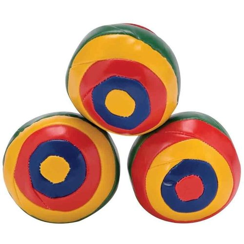 SCHYLLING JUGGLING BALL SET - STRIPED