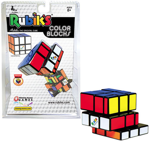WINNING MOVES RUBIK'S COLOR BLOCKS 3x3x3