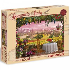 Clementoni CL1000 ROMANTIC ITALY - TUSCANY