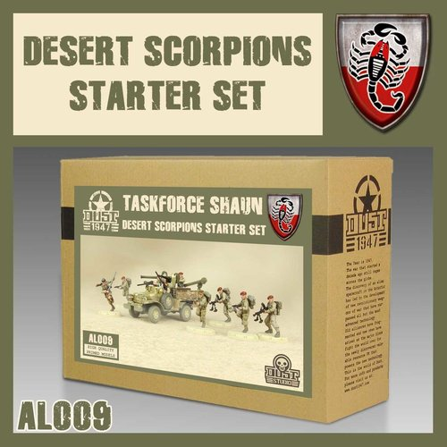 DUST USA DUST 1947 ALLIES TASKFORCE SHAUN STARTER SET