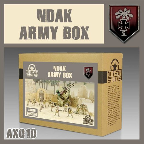 DUST USA DUST 1947 AXIS NDAK ARMY BOX