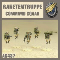 DUST 1947 AXIS RAKETENTRUPPE HQ