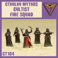 DUST 1947 MYTHOS CULTIST FIRE SQUAD