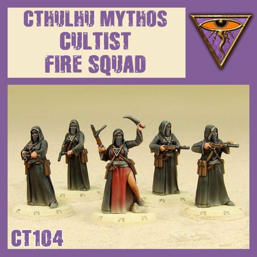 DUST USA DUST 1947 MYTHOS CULTIST FIRE SQUAD