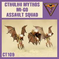 DUST 1947 MYTHOS MI-GO ASSAULT SQUAD
