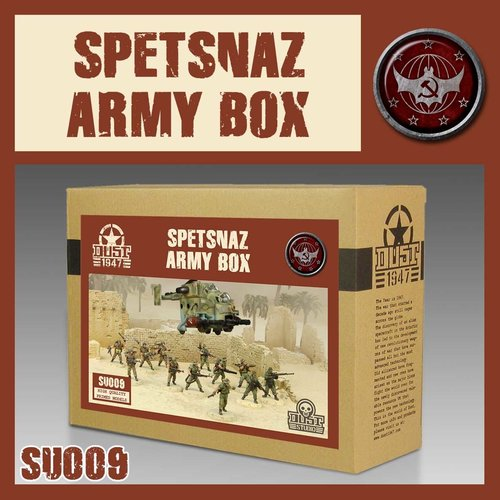 DUST USA DUST 1947 SSU SPETSNAZ ARMY BOX