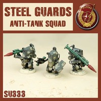 DUST 1947 SSU STEEL GUARD ANTI TANK SQUAD