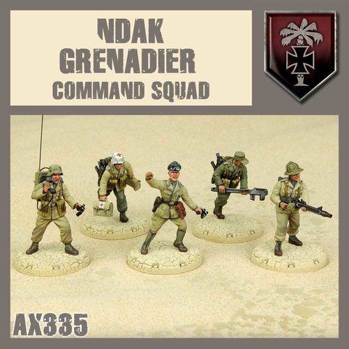 DUST USA DUST 1947 AXIS NDAK GRENADIER HQ