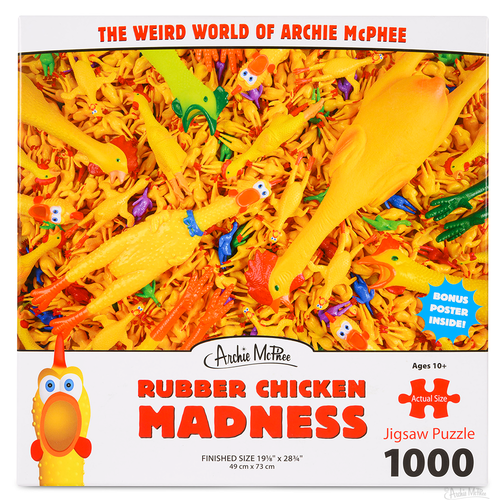 Archie McPhee AM1000 RUBBER CHICKEN MADNESS
