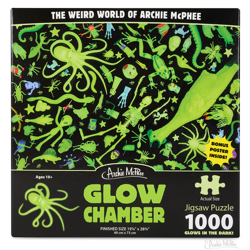 Archie McPhee AM1000 GLOW CHAMBER (Glow-in-the-Dark)