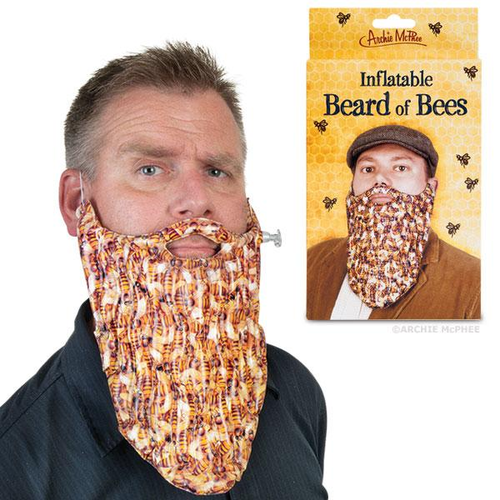 Archie McPhee INFLATABLE BEARD OF BEES