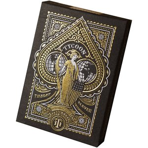 THEORY11 THEORY 11 TYCOON BLACK PLAYING CARDS