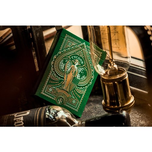 THEORY11 THEORY 11 TYCOON GREEN PLAYING CARDS