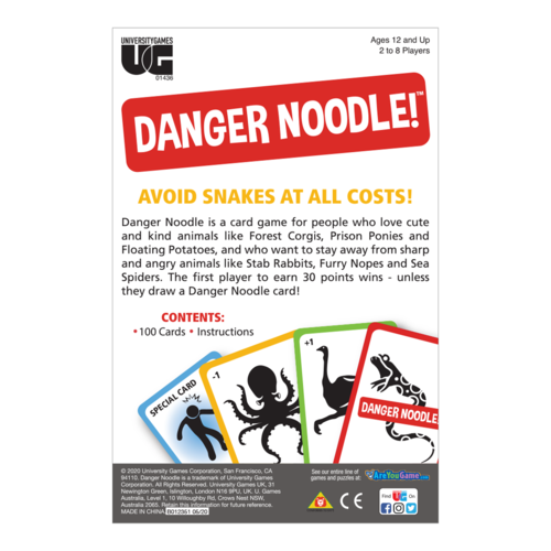 UNIVERSITY GAMES DANGER NOODLE