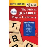 SCRABBLE DICTIONARY (6th Ed)