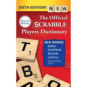MERRIAM-WEBSTER SCRABBLE DICTIONARY (6th Ed)