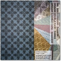 "DAMASK DOUBLE SIDED-24 (6"")"