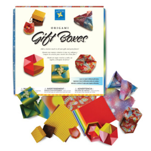 AITOH COMPANY BOXED KIT ORIGAMI GIFT BOXES