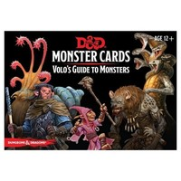 D&D 5E: MONSTER CARDS - VOLO'S GUIDE TO MONSTERS