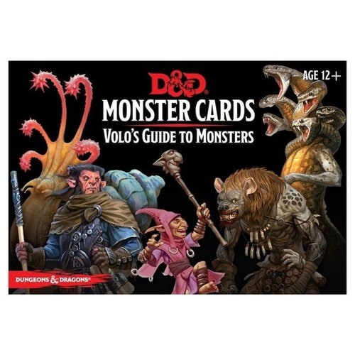 Gale Force Nine D&D 5E: MONSTER CARDS - VOLO'S GUIDE TO MONSTERS