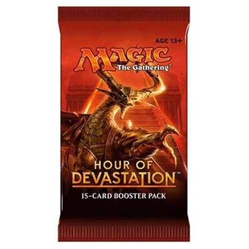 Wizards of the Coast MTG: HOUR OF DEVASTATION - BOOSTER