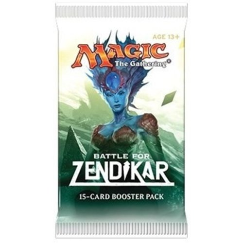 Wizards of the Coast MTG: BATTLE FOR ZENDIKAR - BOOSTER