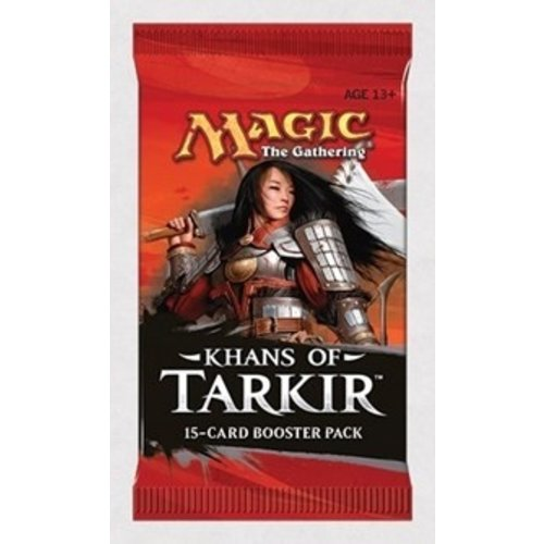 Wizards of the Coast MTG: KHANS OF TARKIR - BOOSTER