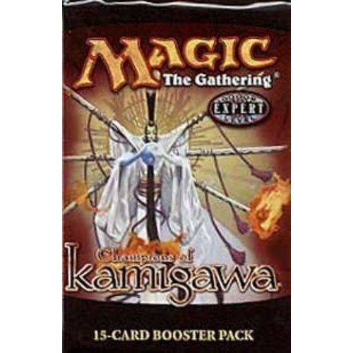 Wizards of the Coast MTG: CHAMPIONS OF KAMIGAWA - BOOSTER