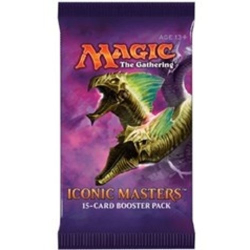 Wizards of the Coast MTG: ICONIC MASTERS - BOOSTER