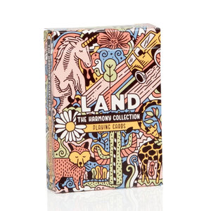 ART OF PLAY HARMONY COLLECTION, LAND PLAYING CARDS