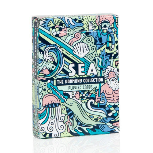 ART OF PLAY HARMONY COLLECTION, SEA PLAYING CARDS