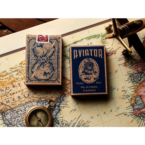 ART OF PLAY AVIATOR HERITAGE EDITION PLAYING CARDS