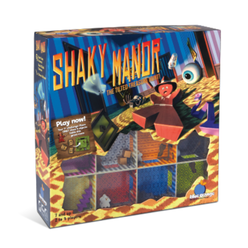 BLUE ORANGE SHAKY MANOR