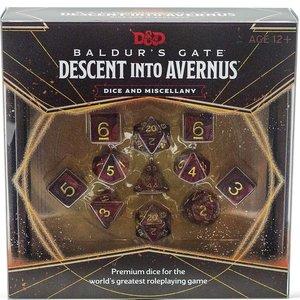 Wizards of the Coast D&D 5E: BALDUR'S GATE - DESCENT INTO AVERNUS - DICE