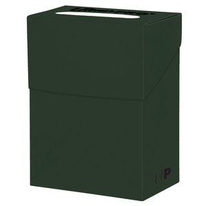 Ultra Pro International DECK BOX: SOLID FOREST GREEN