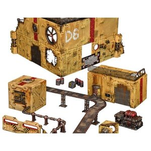 Mantic Entertainment LTD. TERRAIN CRATE: INDUSTRIAL ZONE