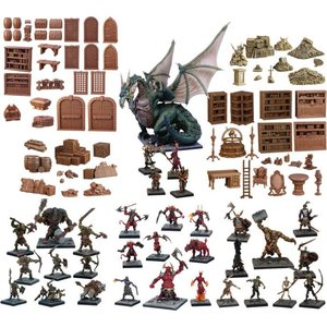 Mantic Entertainment LTD. TERRAIN CRATE: GM's DUNGEON STARTER