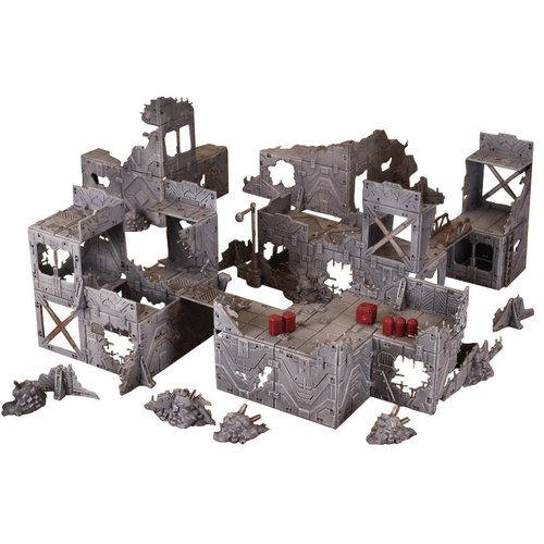 Mantic Entertainment LTD. TERRAIN CRATE: RUINED CITY