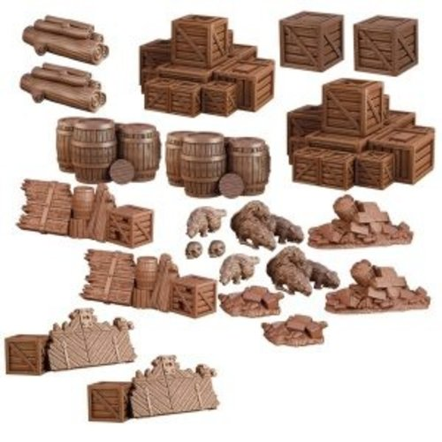 Mantic Entertainment LTD. TERRAIN CRATE: DUNGEON DEBRIS