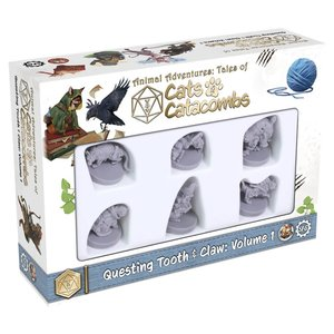 Steam Forged Games MINIS: CATS & CATACOMBS - TOOTH & CLAW 1